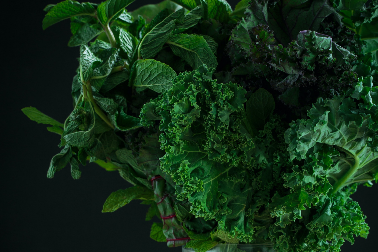 Bunch of leafy green, what you need to know about calcium