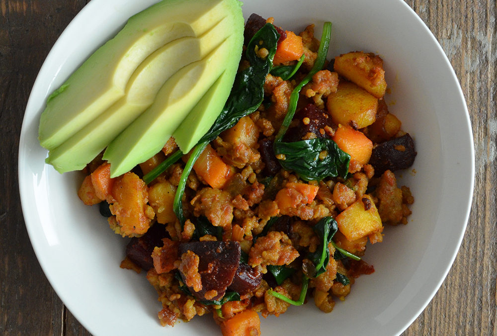 Breakfast Root Veggie Hash