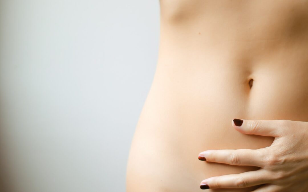 How does the menstrual cycle affect IBS?